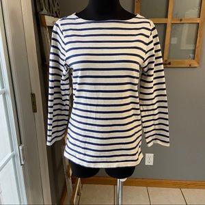 Denim & Supply Ralph Lauren Blue Striped Tunic S